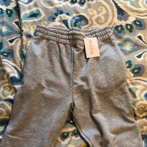 Missguided gray petite joggers